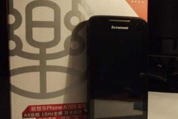 Lenovo A789— обзор