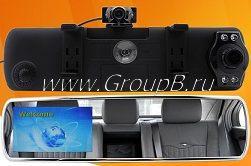 Mirror DVR 700+2 камеры— 88.99$