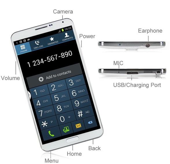 Star U9000 Note 3