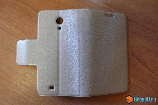 thl w100 обзор flip case