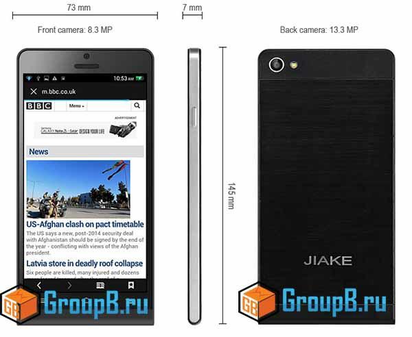 jiake p6 обзор