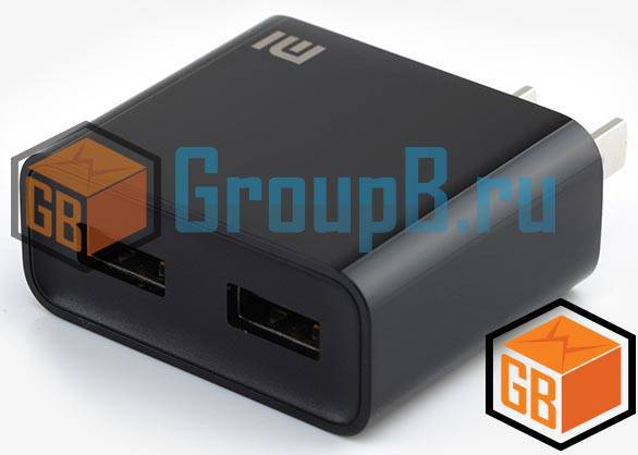 Xiaomi charger 2 usb