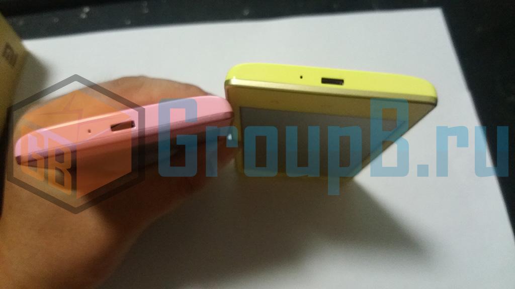 xiaomi 1s pink yellow