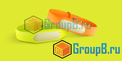 xiaomi MiBand wristband