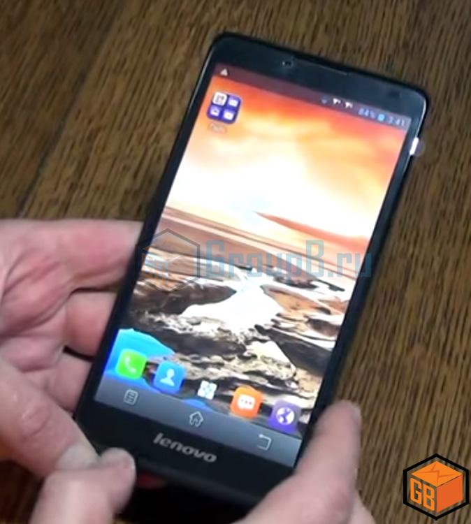 Lenovo A880 экран