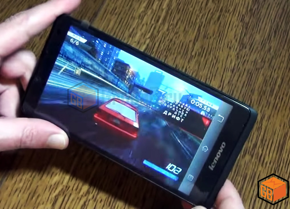 Lenovo A880 game