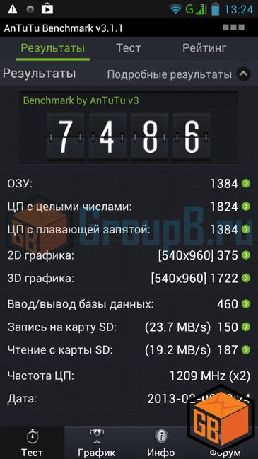 Lenovo p770 антуту