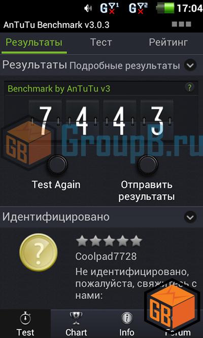 coolpad 7728 антуту