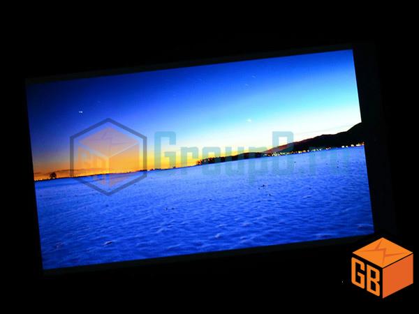 infocus m512 display
