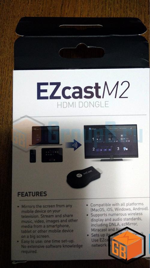 EZcast m2 обзор