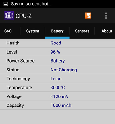 CPUz MT6732