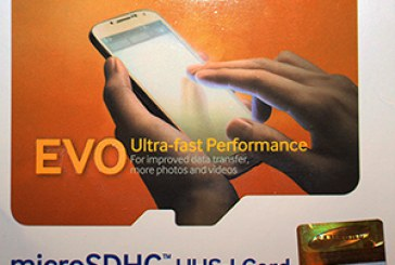Обзор СД карты Samsung EVO 32 Гб или Joy is a girl...