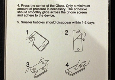 закаленное стекло на смартфон