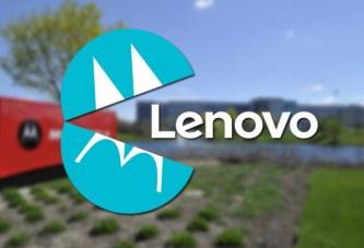 Motorola поглотила Lenovo ?
