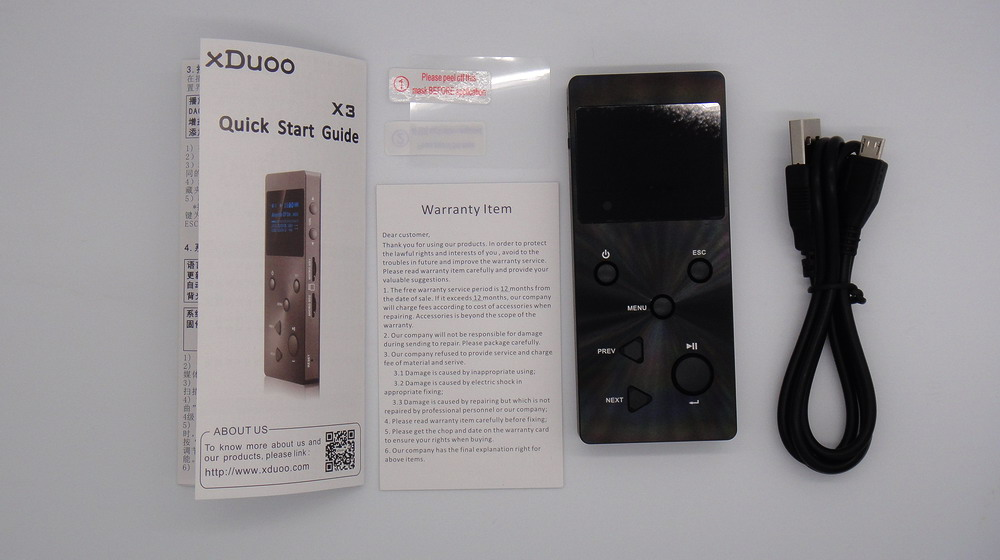 xDuoo X3 Hi-Fi Player