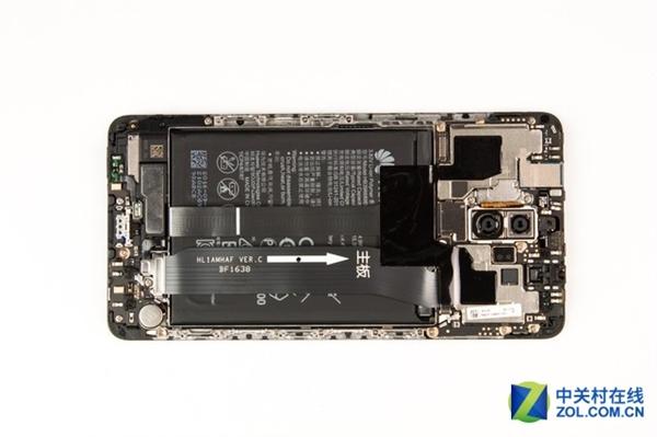 Huawei Mate 9 разобрать