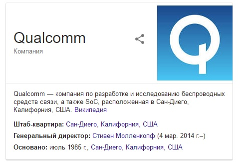 qualcomm штраф