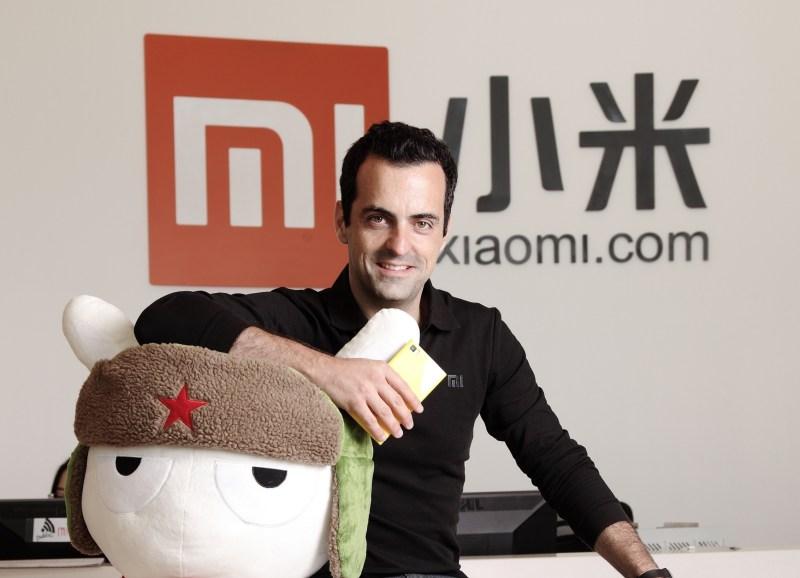 Вице-президента Xiaomi