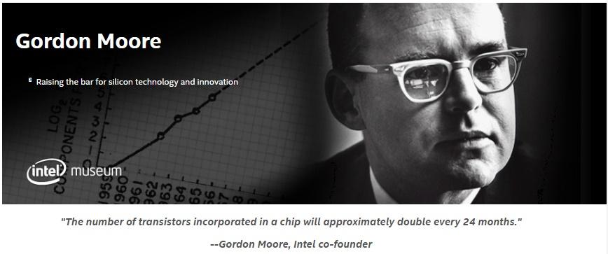 Gordon- Moore Intel