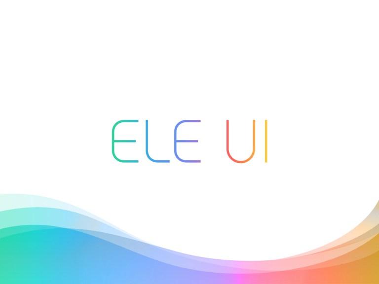 Elephone разрабатывает ELE UI