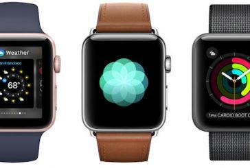 Количество поставок смарт-часов Apple превысило 5,2 млн