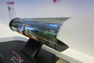 Прототип гибкого дисплея от LG