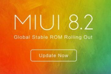 Вышла стабильная прошивка MIUI 8.2 Global Stable