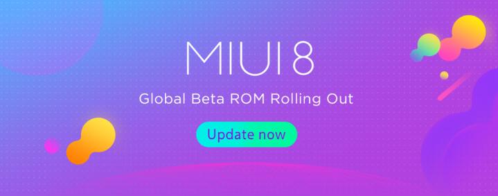 MIUI 8 Global Beta ROM 7.3.30
