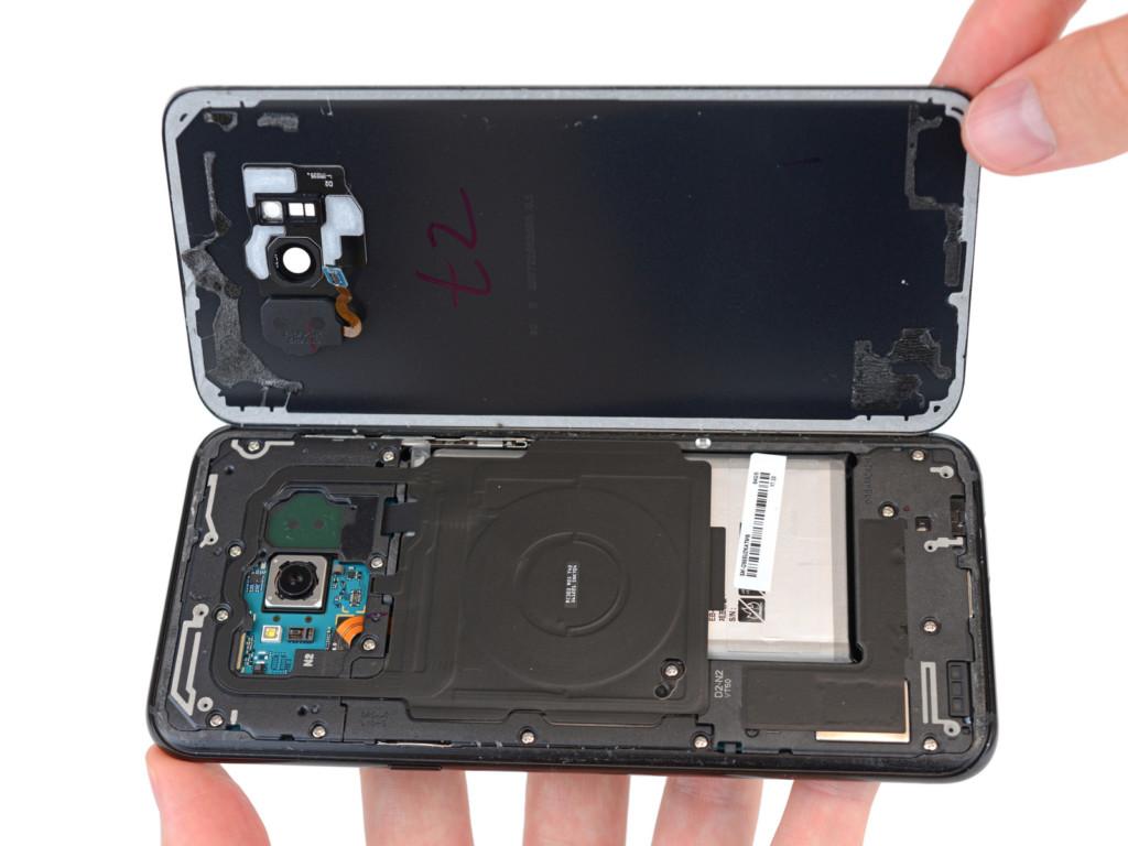 Samsung S8 S8+ разобрать