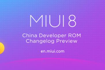 ОС MIUI 8 Global Beta ROM 7.4.20