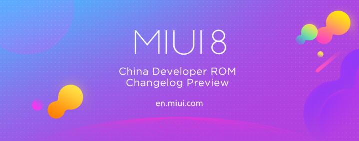 MIUI 8 Global Beta ROM 7.4.20