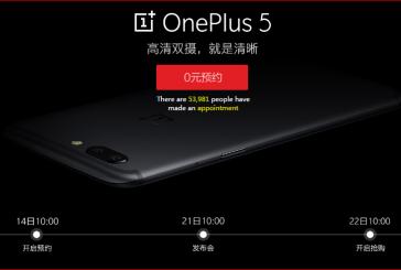 OnePlus 5 с 8Гб доступен для предзаказа на JD