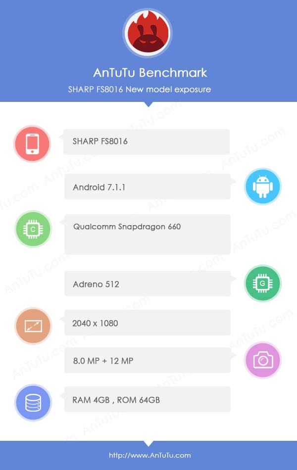 Sharp FS8016