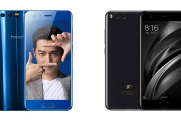 Сравнение Huawei Honor 9 и Xiaomi Mi6