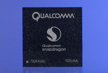Сегодня Qualcomm представил новый процессор Snapdragon 450