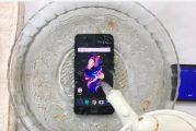 OnePlus 5 прошел тест водой