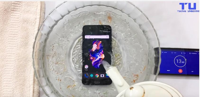 oneplus 5 waterproof
