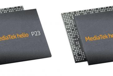 Компания MediaTek анонсировала Helio P23 и P30
