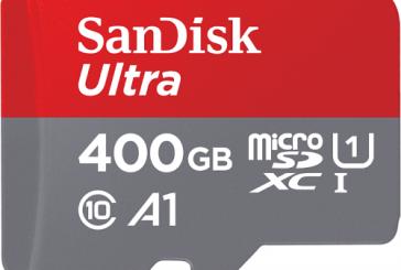 SanDisk выпустила microSD на 400 Гб