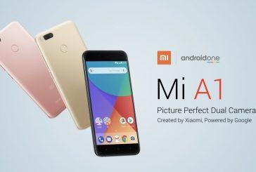Официальный релиз Xiaomi Mi A1