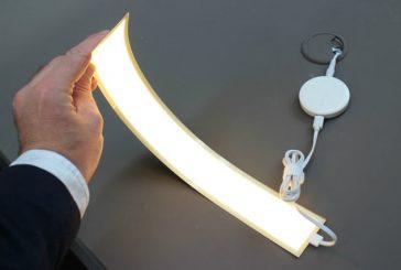 Новинка: гибкие OLED лампы от LG