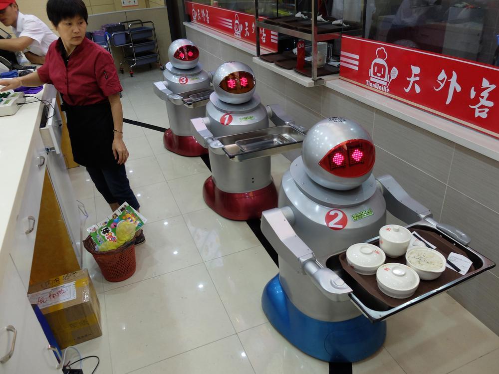robot еда