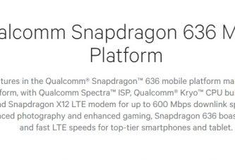 Новый процессор от Snapdragon— Qualcomm 636