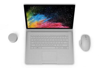 Microsoft анонсировала Surface Book 2