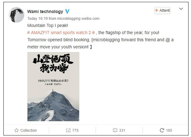 Xiaomi Huami Amazfit II