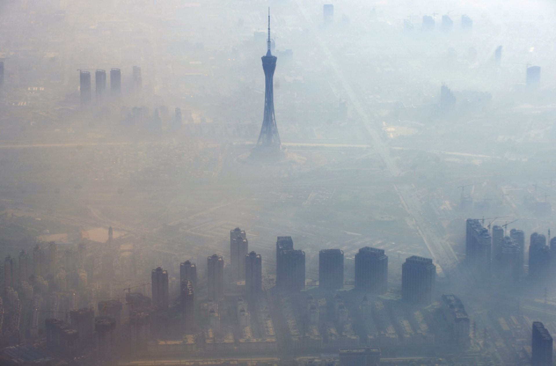 atmospheric pollution in beijing and the