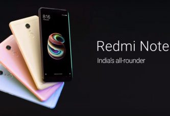 Официальный релиз Xiaomi Redmi Note 5