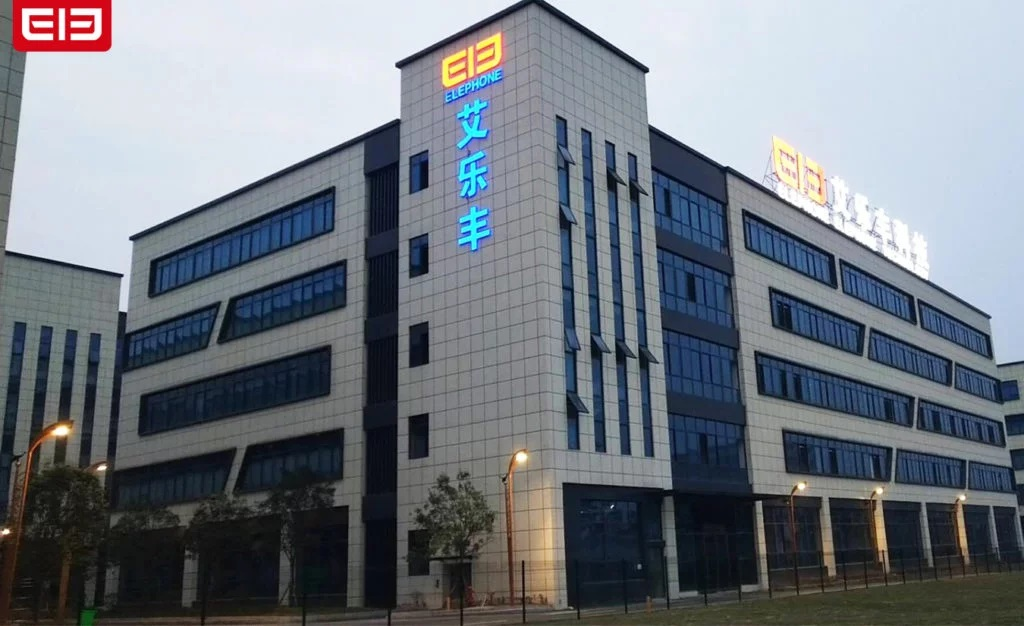 elephone new factory