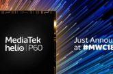 Mediatek официально представили Helio P60 на MWC 2018