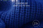 LEAGOO S9: 23 кратный зум и 65-мегапиксельные фото